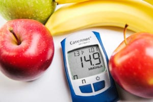 blood sugar and apples